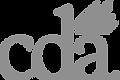 cda white logo