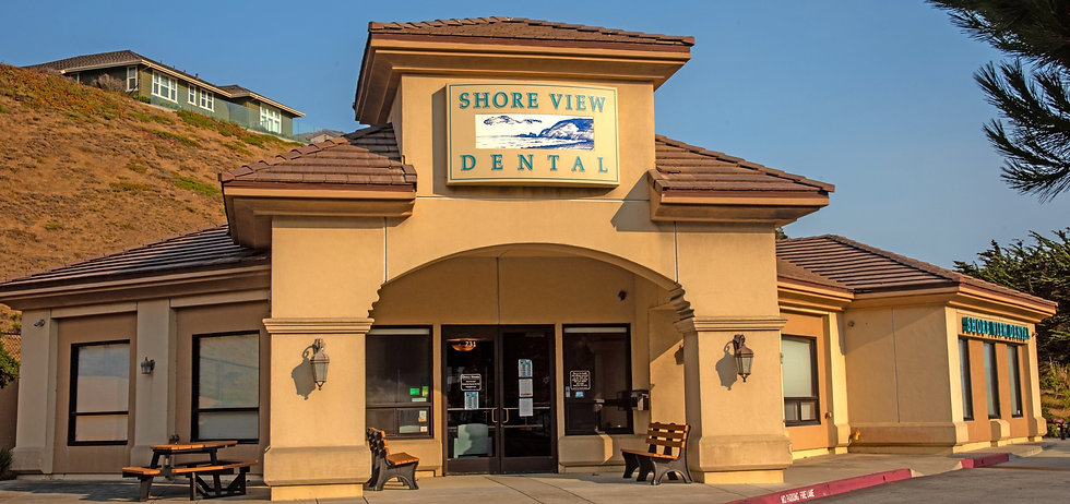 Front of Shoreview dental office