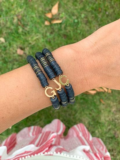 Skinny Initial Bracelet