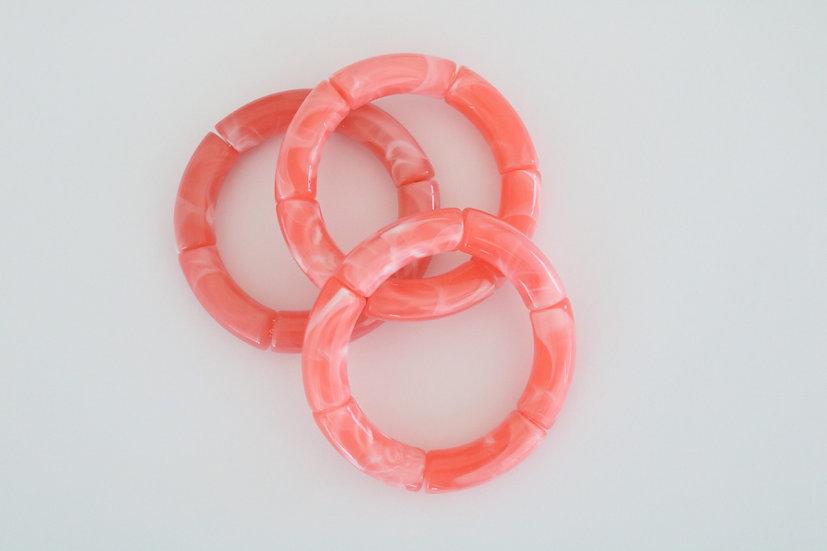 Acrylic- pink marble