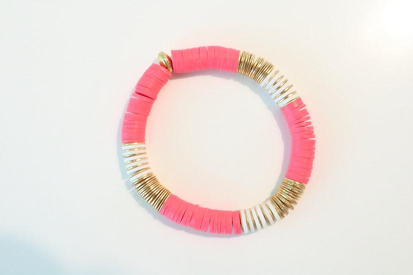 Pink & white Discs