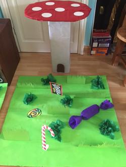Wonka's Edible Grass & Toadstool