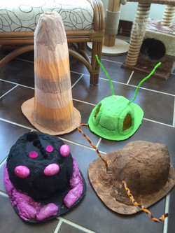 James & the Giant Peach Insect Hats