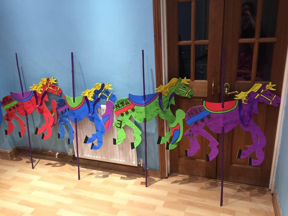 Mary Poppins Carousel Horses