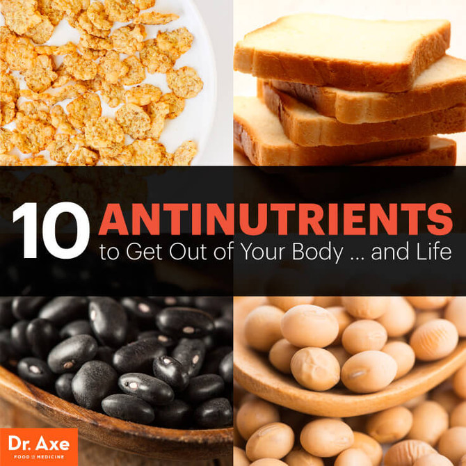 10 Antinutrients to Get Out of Your Diet