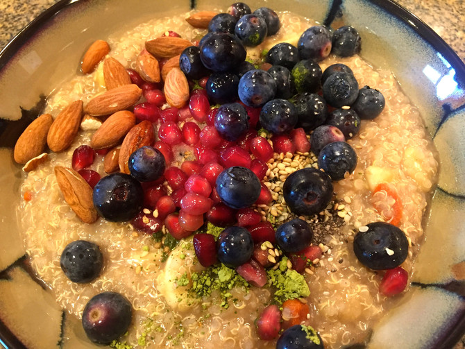 Power Breakfast Quinoa Porridge