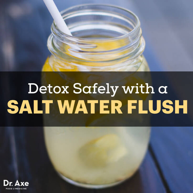 Benefits of a Salt Water Flush, Including Detoxing + Pooping!