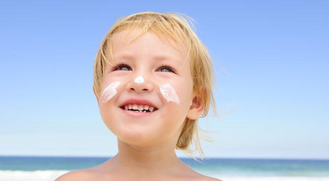 EWG's Best Scoring Sunscreen Lotions for Kids