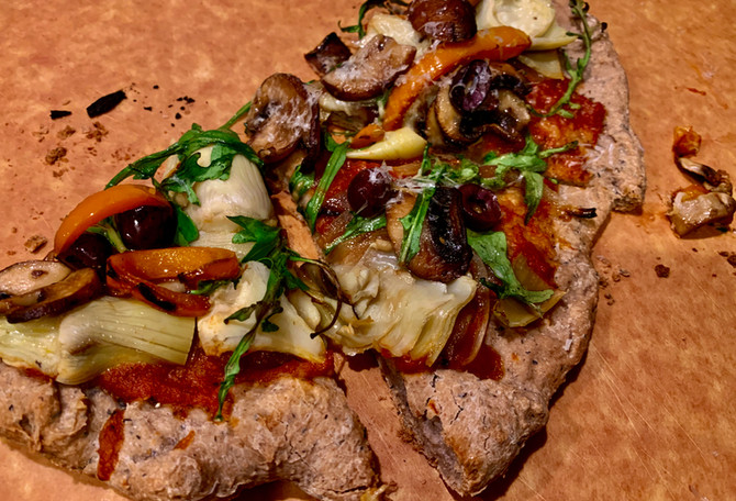 Recipe: Gluten-Free Garden Veggie Pizza