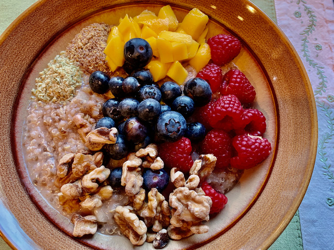 Blood-Sugar-Friendly Power Breakfast Quinoa Porridge