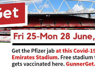Emirates vaccination event - Friday to Monday