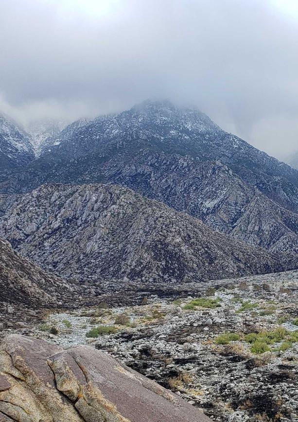 Looking at San Jacinto Peak