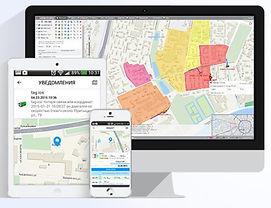 Мониторинг транспорта онлайн