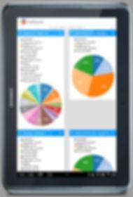 gps/глонасс контроль транспорта на планшете