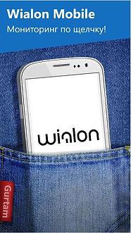 Мониторинг транспорта Wialon