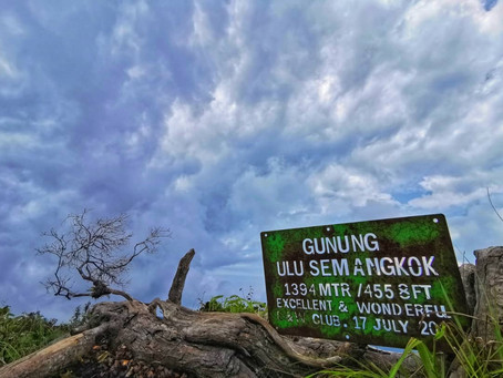 Gunung GAP & Ulu Semangkuk at Fraser's Hill
