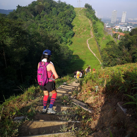 Sri Bintang hill, or ReverseTrans Kiara/Sri Bintang Workout