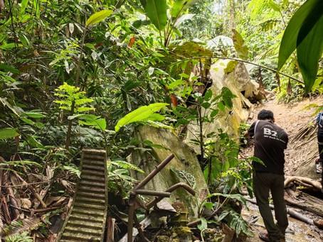 Gunung Berembun Jelabu and WWII plane crash site