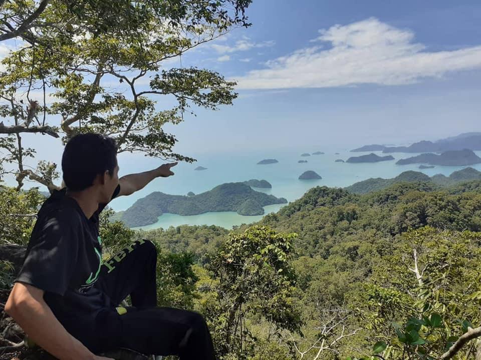 langkawi in 48 hours, hike langkawi