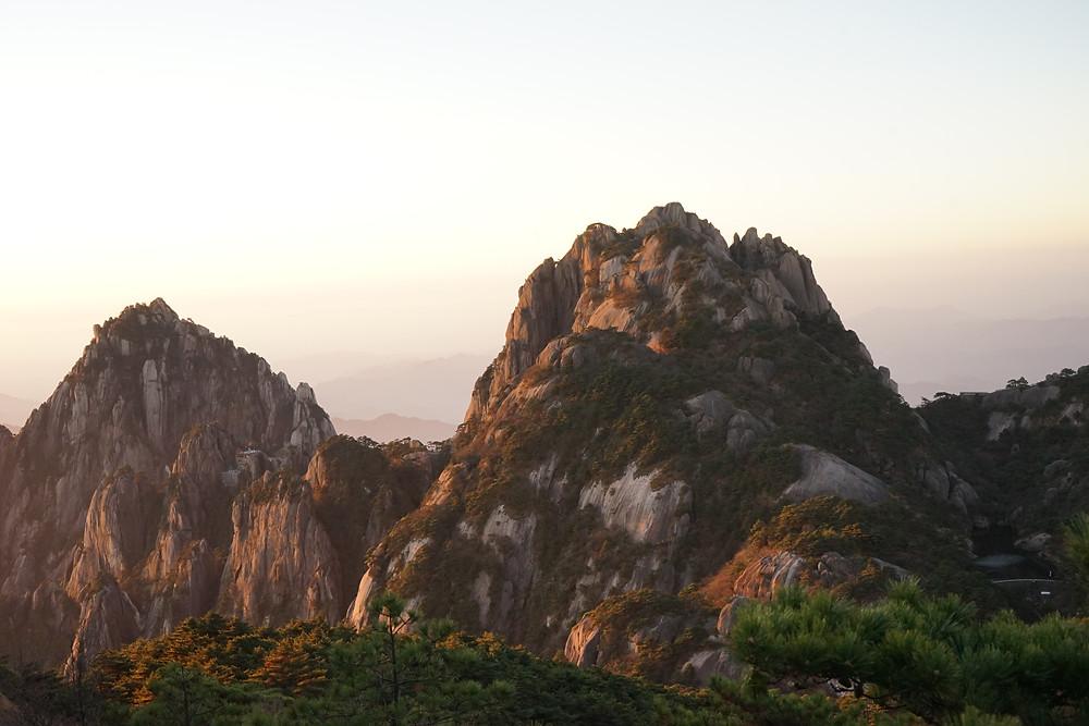 lotus peak, huangshan