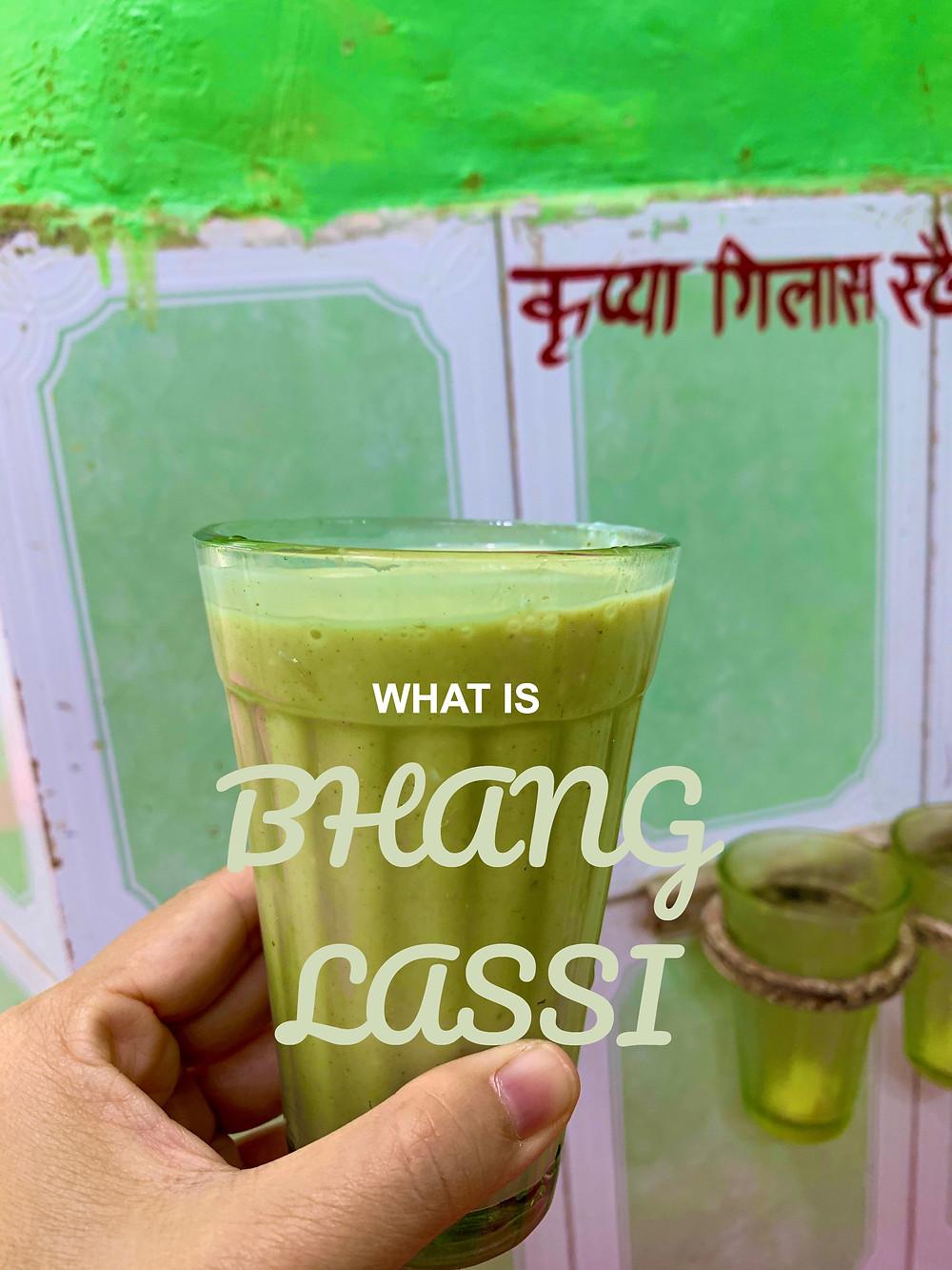 bhang lassi, ganja lassi, marijuana lassi, hash lassi