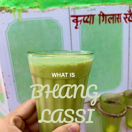 BHANG lassi, the Holi Drink