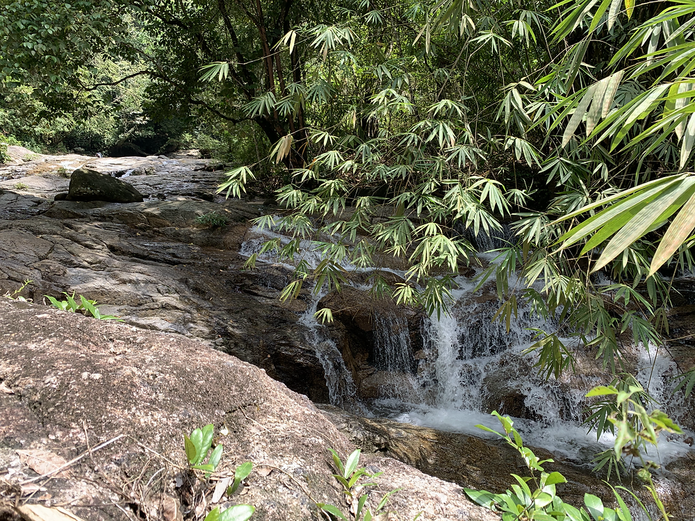 gunung relau, cannon hill, ww2 ammo stash, hike malaysia. malaysia hikes gunung relau kampar