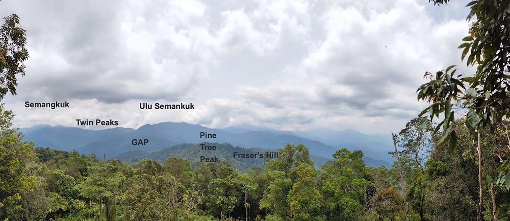 titiwangsa mountain range, bukit kutu, banjaran titiwangsa, bukit kutu hikes
