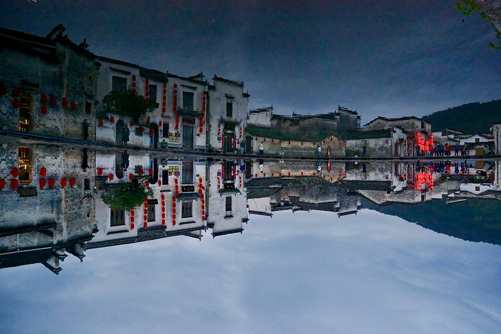 top-villages-in-china, hongcun village, moon lake village, most-beautiful-village-in-china