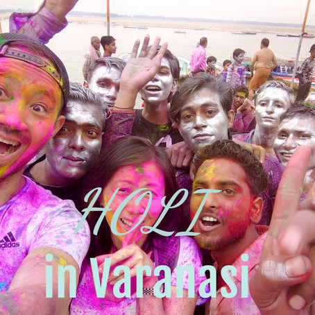 Holi in Varanasi India, SAFE and SANE!