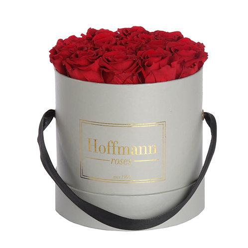 Infinity Box - classic red - Größe: S  Rose: mini