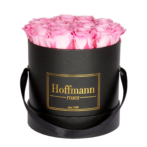Infinity Box - hot pink - Größe: S  Rose: mini