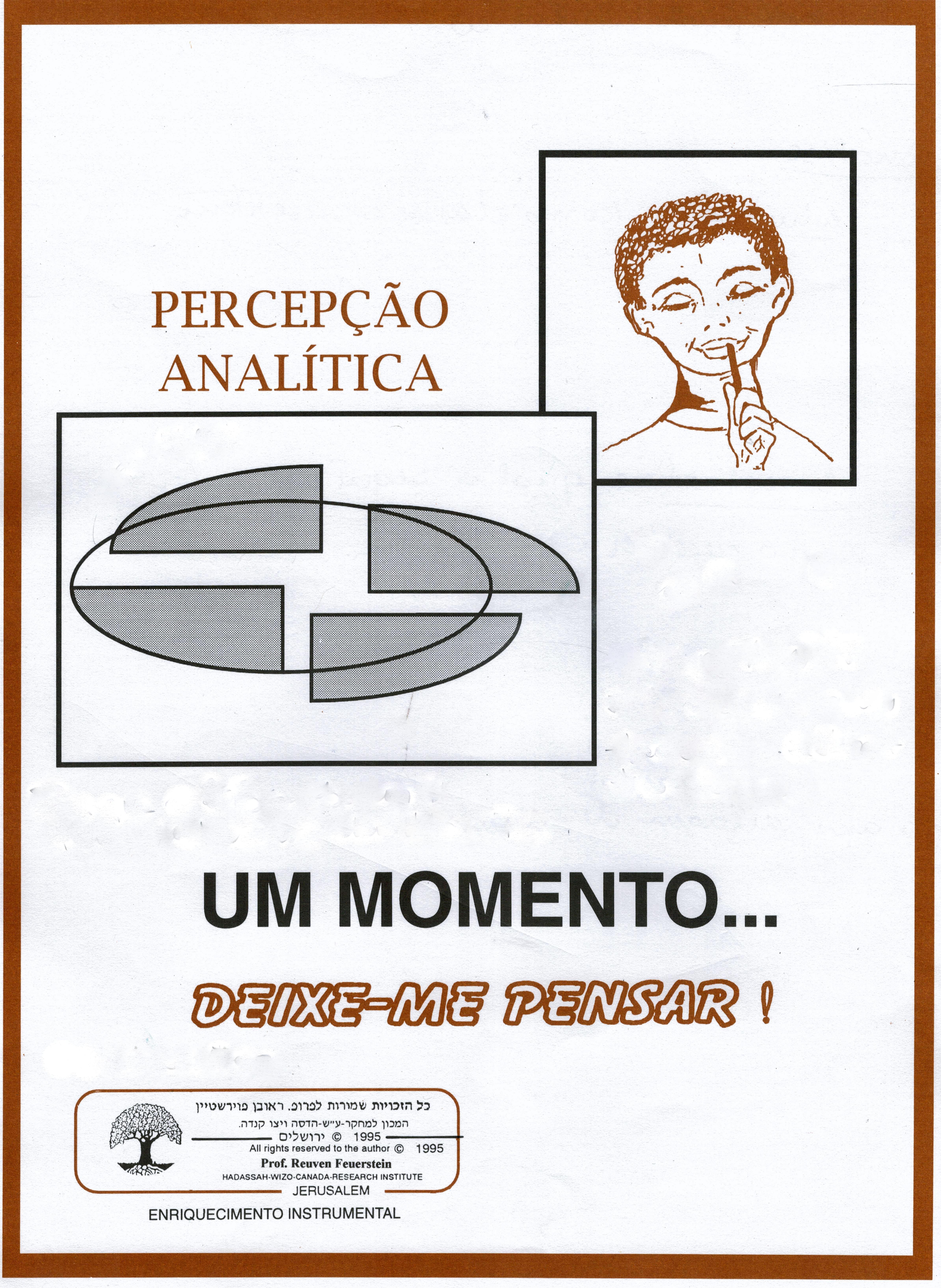 percepção analítica