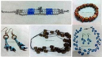 curso básico de bijuterias - fotos ilusrativas: cores e modelos poderão variar, permanecendo a técnica.