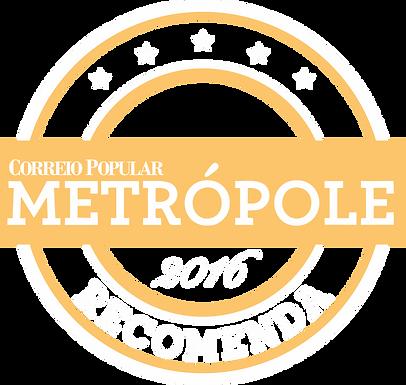 revista metropole recomenda 2016 selo_we