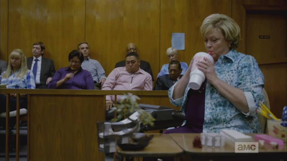 Jennifer Bean as a court reporter on Better Call Saul Season 1 Episode 1