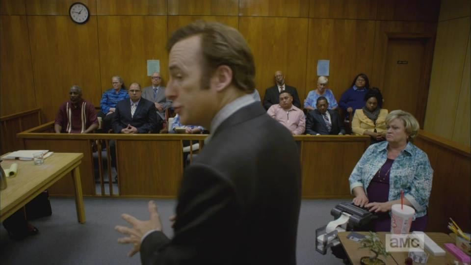 Jennifer Bean as a court reporter on Better Call Saul Season 1 Episode 1