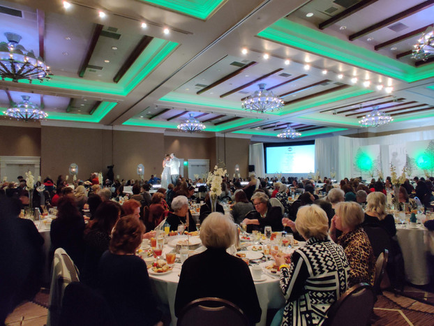 2019 High Tea Fashion Show at Hotel Albuquerque