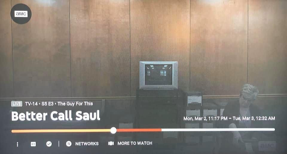Jennifer Bean as a court reporter on Better Call Saul Season 5 Episode 3
