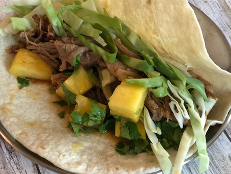 Pork Pineapple Tacos