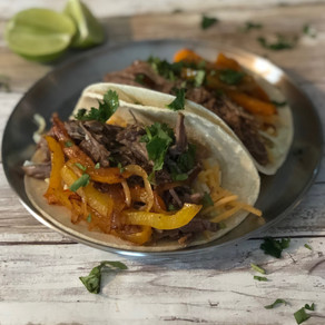 Chipotle Shredded Beef Tacos