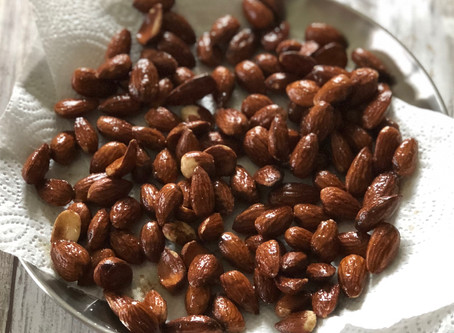 Toasted Spiced Almonds