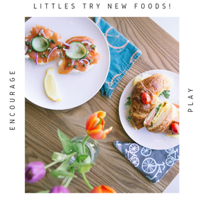 Ways to make food FUN for picky littles