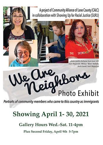 We Are Neighbors Exhibit Flyer April.jpg