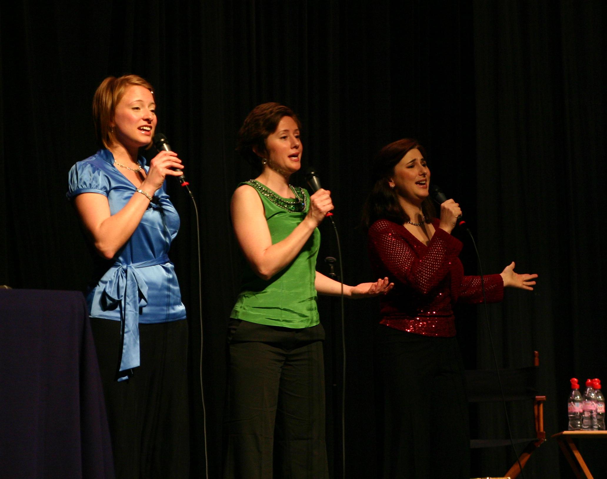 Hannah, Dinah, and Hilary