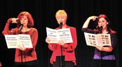 Caron, Marianne, and Hilary