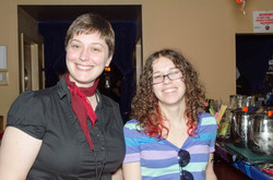 Bd, Member, Amanda Cenzer, and guest