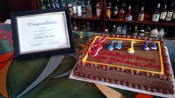 C.A.R.E.S. Award and Cake