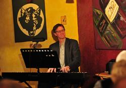Mark Burnell on the keys