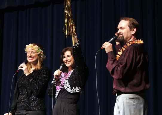 Hannah, Hilary, and Tracy